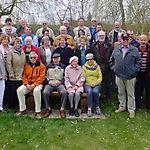 Aktive TSV Oldies Gruppenfoto erstes Treffen