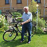 005_Walter Brandes mit E-Bike